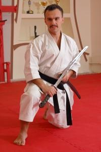 Руководитель клуба боевых искусств SEN-BIN: Николай Сираковский, клуб карате в Киеве Сєн-Бин