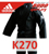 ADIDAS Купить чёрное кимоно для карате K270 серии Black BUSHIDO